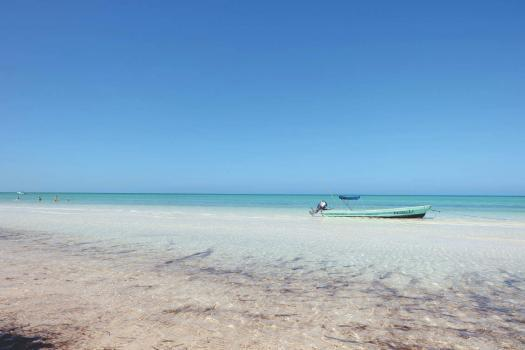 Holbox: tropisches Urlaubsparadies in Mexiko Yucatan